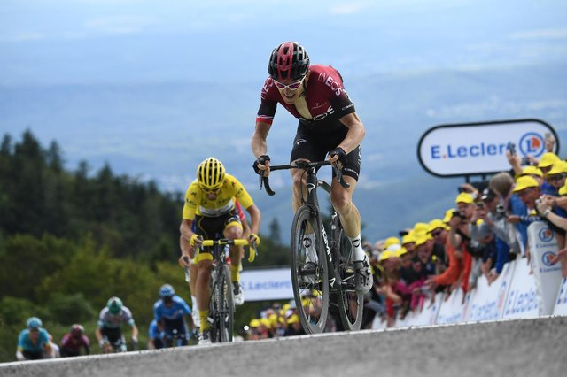 Geraint Thomas, pictured here on his way to TdF victory in 2018, is 5/1 on to win a second Le Tour title. (Pic: Getty)