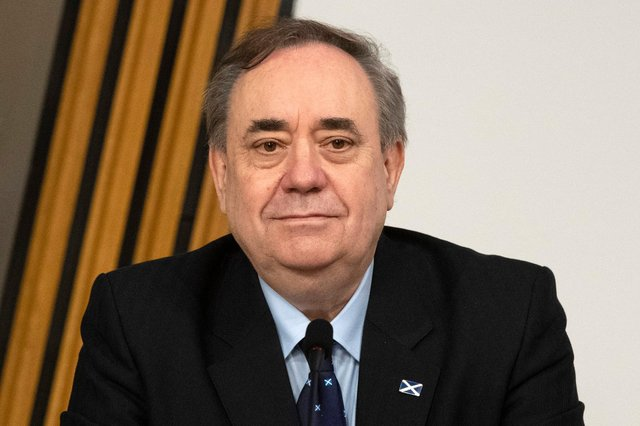 Former First Minister Alex Salmond will be the new leader of the pro-independence Alba Party (Getty Images)