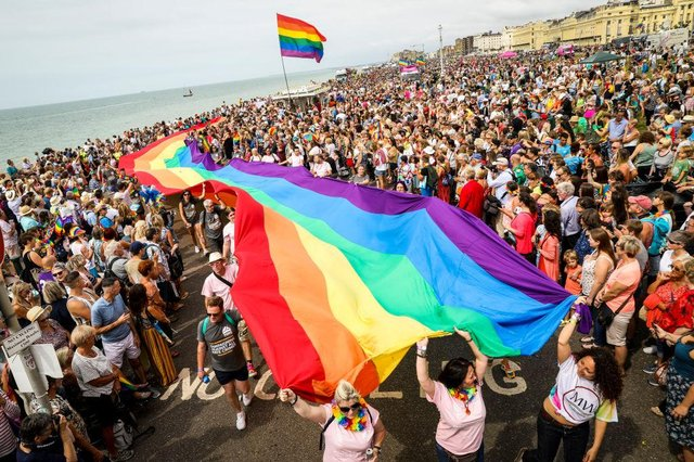 Pride celebrations are set to take place across the UK in June (Getty Images)