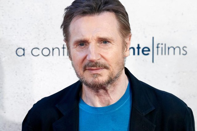 Liam Neeson 'so proud' of first Catholic school in Northern Ireland to become integrated in heartwarming video message to parents and staff (Photo by Carlos Alvarez/Getty Images)