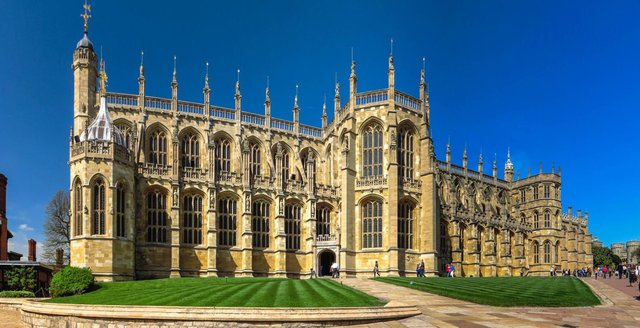 The Duke of Edinburgh's funeral will take place at Windsor Castle's St George's Chapel on Saturday (Shutterstock)