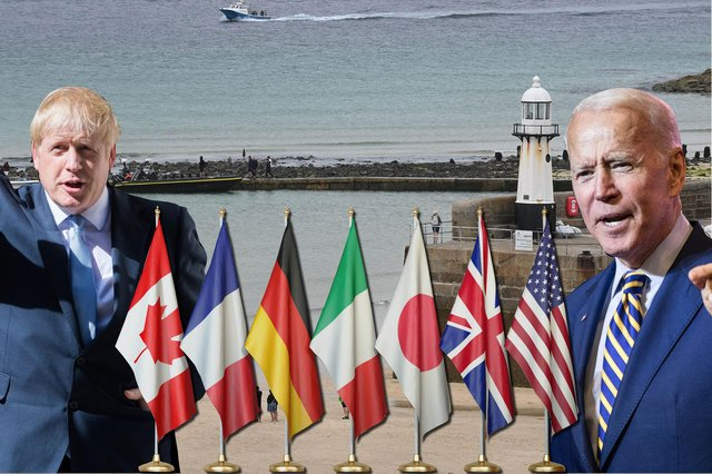 The summit will take place from 11 to 13 June at Carbis Bay in Cornwall (Composite: Kim Mogg / JPIMedia)