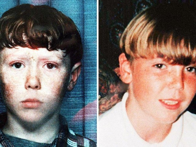 """Patrick """"Paddy"""" Warren, 11, and 13-year-old David Spencer went missing on Boxing Day, 1996 (Picture: SWNS)"""