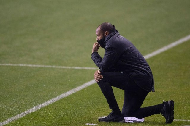 Thierry Henry, who was recently manager of Montreal Impact, explained his reasons for stepping away from social media on GMB (Getty Images)
