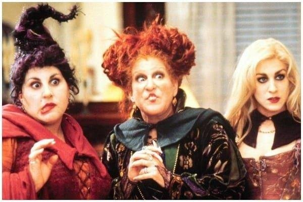 Disney has confirmed that Bette Midler, Sarah Jessica Parker and Kathy Najimy will all be returning for Hocus Pocus 2 (Photo: Buena Vista Pictures/Disney)