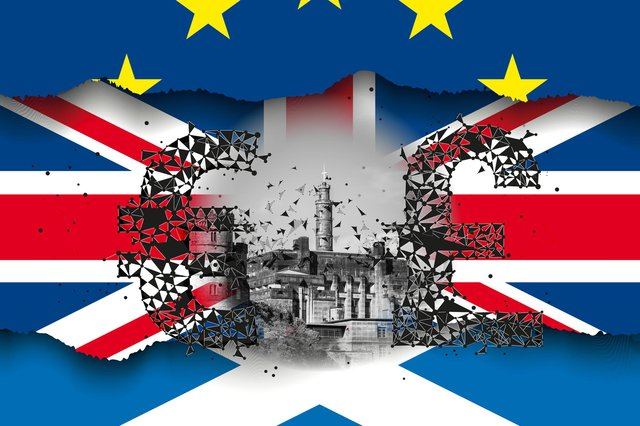 Dr Kirsty Hughes said the issue of currency is not as big a problem when it comes to Scotland joining the EU as is often made out (Composite: Mark Hall/JPI Media)