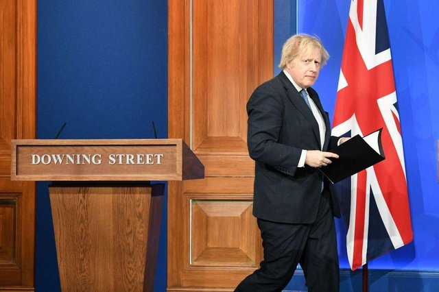 Boris Johnson announcement: what the PM said in his lockdown roadmap speech today - and full list of updates (Photo by STEFAN ROUSSEAU/POOL/AFP via Getty Images)