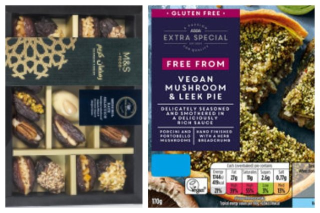 Products have been recalled for various reasons, from contamination fears to allergens not labelled (Picture: Marks and Spencers/ASDA)