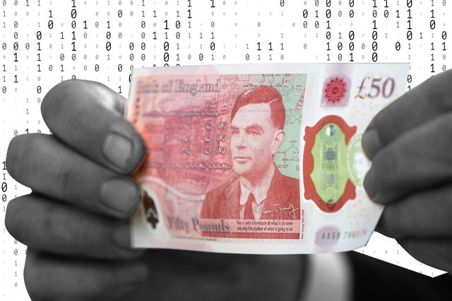Alan Turing features on the new £50 note