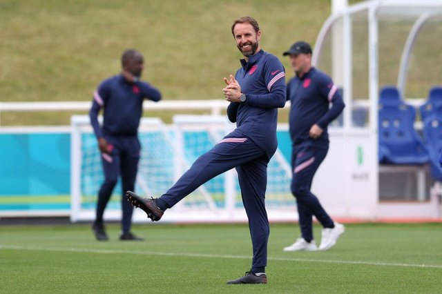 Gareth Southgate, Manager of England. (Photo by Catherine Ivill/Getty Images)