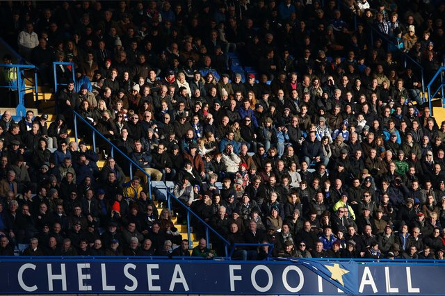 """Chelsea Supporters' Trust said it would demand answers to the """"unforgivable"""" proposals(Photo credit should read ADRIAN DENNIS/AFP via Getty Images)"""