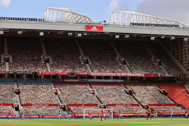 Old Trafford.  (Photo by Clive Brunskill/Getty Images)