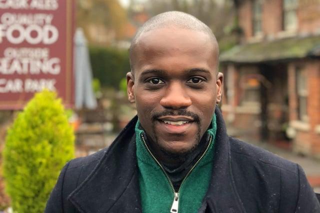 Samuel Kasumu will leave the role next month (Photo: Samuel Kasumu/Twitter)