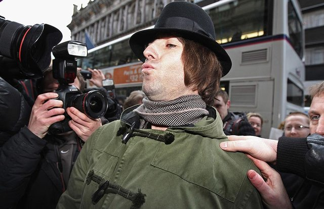 Liam Gallagher at the 2011 opening of Pretty Green's Glasgow store (Photo: Jeff J Mitchell/Getty Images)