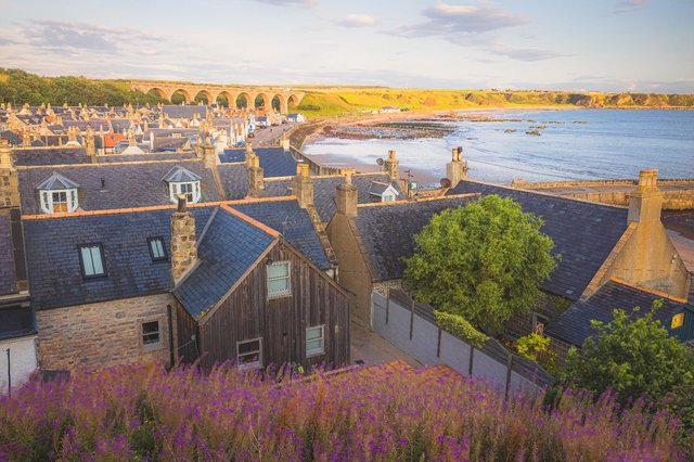 The seaside fishing village of Cullen Bay in Moray (Shutterstock)