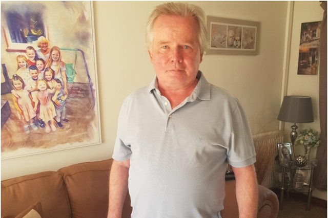 John Marno was diagnosed with bowel cancer in 2020 after being sent a home screening test (Photo: John Marno)