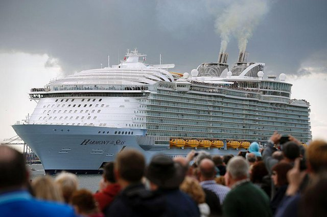 Royal Caribbean will operate ocean cruises as well as voyages around the UK coastline from Southampton from 7 July (Photo: ADRIAN DENNIS/AFP via Getty Images)