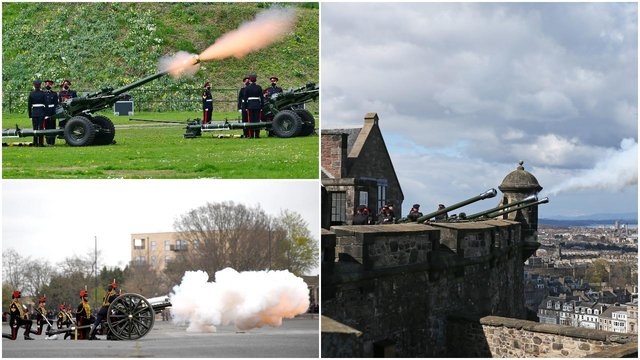 Gun salutes were used to mark the deaths of Queen Victoria in 1901 and Winston Churchill in 1965 (Getty Images)