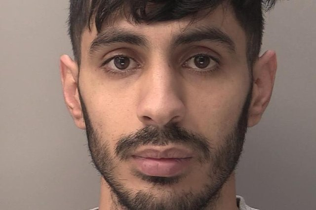 Azam Mangori, 24, killed Lorraine Cox, 32, in his room above an Exeter kebab shop in September last year.