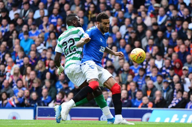 Two Scottish Premiership players made the FIFA 21 Community TOTS shortlist with Connor Goldson (Rangers) and Odsonne Edouard (Celtic) named among the top performers worldwide. (Pic: Getty Images)