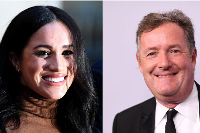 Meghan Markle and Piers Morgan were once friends who went for drinks, the presenter has claimed (Getty Images)