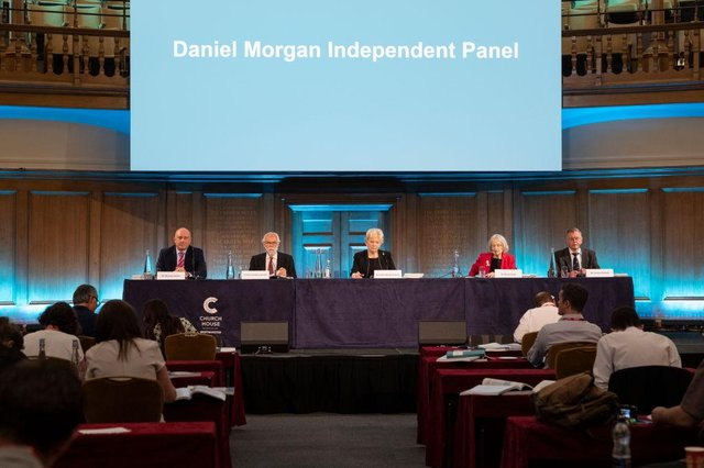 """The panel accused the Met Police of """"institutional corruption."""""""