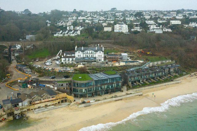 Carbis Bay in St Ives will host the 2021 G7 summit (Getty Images)