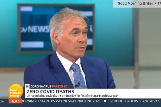 """Dr Hilary warned the UK has not reached the """"beginning of the end"""" of Covid-19 (Photo: ITV)"""