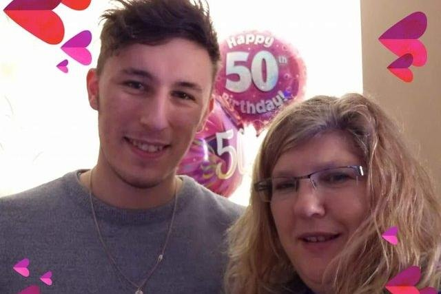"""Heartbroken mum says says she """"lost everything"""" after death of her son, 23, to bowel cancer (Photo: The News/Caroline Mousdale)"""