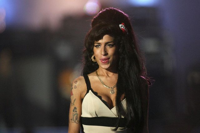 Amy Winehouse performed at an event to celebrate Nelson Mandela's life at Hyde Park on June 27, 2008 in London  (Picture:Getty Images)