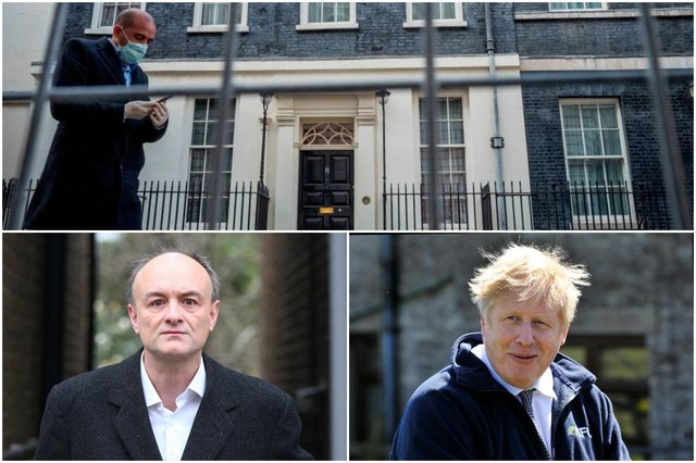 Boris Johnson: how did PM pay for renovations to Downing Street flat - and what did Dominic Cummings say? (Photos by Rui Vieira - WPA Pool/Getty Images/Hollie Adams/Getty Images/TOLGA AKMEN/AFP via Getty Images)