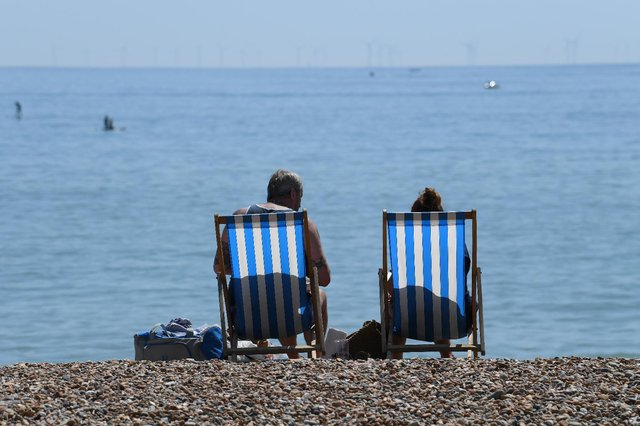 Promise of drier and warmer weather towards the end of May in time for the Spring Bank Holiday. (Pic: Getty)