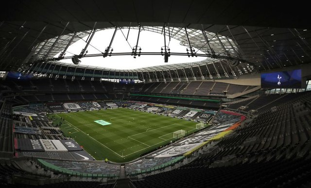 Tottenham Hotspur Stadium. (Photo by Nick Potts - Pool/Getty Images)