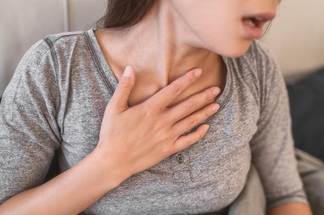 A team of researchers at the University of Sheffield and Oxford University have found signs of lung damage at least three months after patients left hospital (Shutterstock)
