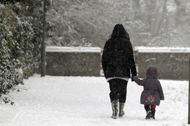 """Forecasters warn that nowhere will be """"immune"""" to sleet and snow today"""