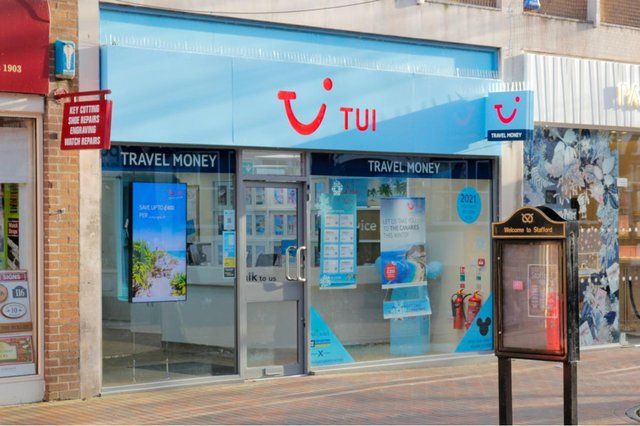 TUI is planning to close 48 more of its UK high street stores