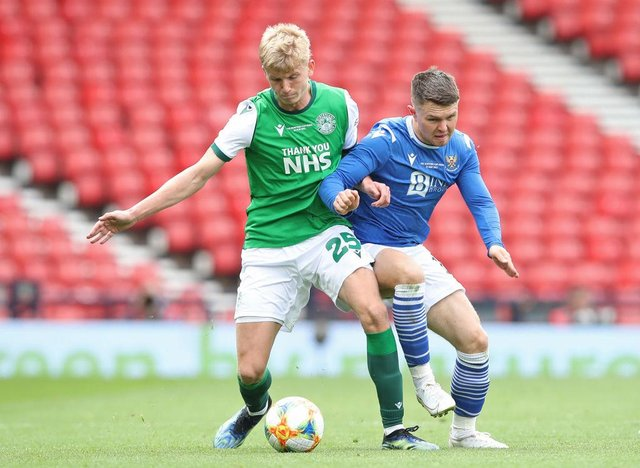 Hibs left-back Josh Doig has been linked with a move to Leeds United.
