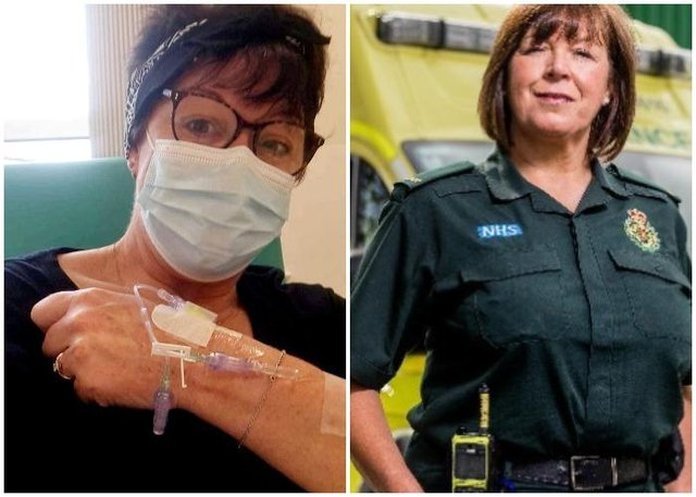 Christine Gill wants to crowdfund her treatment so she can 'return to her duties' (SWNS / JustGiving)