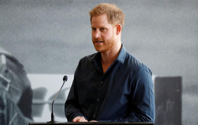 Prince Harry said he was excited to be taking up the role as BetterUp's first chief impact officer (Photo by Peter Nicholls-WPA Pool/Getty Images)