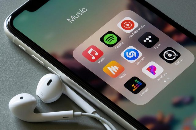 Music streaming apps (Shutterstock)