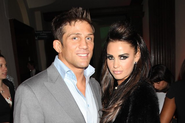 Alex Reid and Katie Price were married in 2010 after a Las Vegas wedding (Getty).