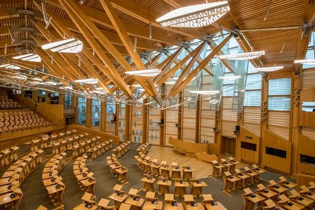 129 MSPs make up the Scottish Parliament, the SNP will take up 64 of these seats following the 2021 election (Picture: Scottish Parliament)