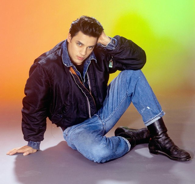 The actor was best known for appearing in the 1985 Levi jeans advert filmed in a launderette (Getty Images)