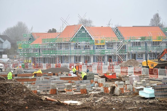 Boris Johnson's Conservative Party is set to ease restrictions on building new homes (Getty Images)