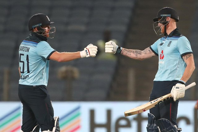 Ben Stokes and Jonny Bairstow put India to the sword during a thrilling partnership.