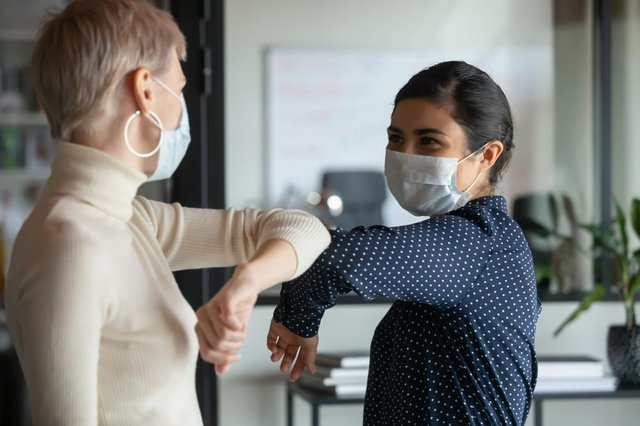 """The head of the Oxford University vaccine group has said there's still a """"long way to go"""" before face masks and social distancing can be scrapped (Photo: Shutterstock)"""