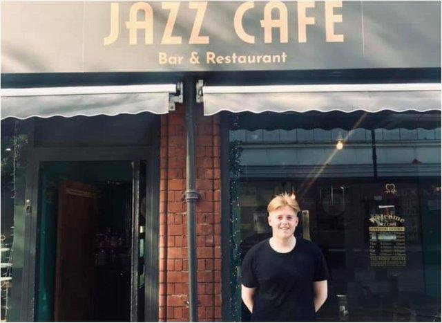 Jack Smithson came to the rescue when a young girl started choking at the Jazz Cafe (Doncaster Free Press)