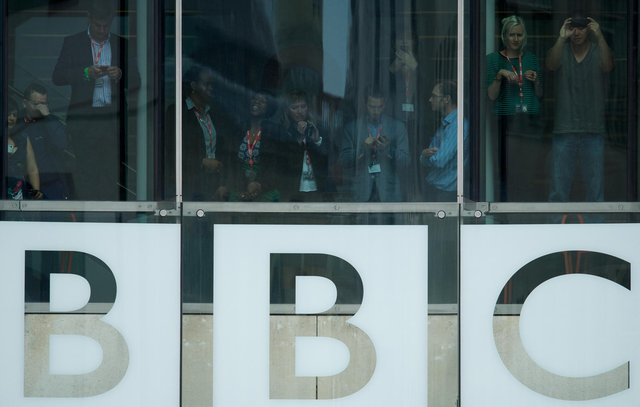 The BBC later established a dedicated form on its website after receiving complaints about its coverage (Photo credit should read ANDREW COWIE/AFP via Getty Images)
