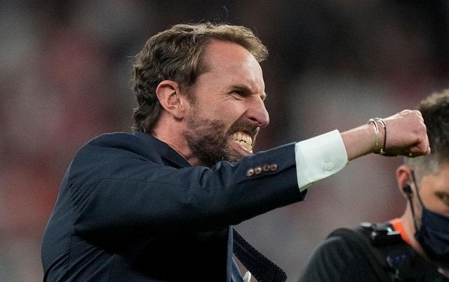 Gareth Southgate, Head Coach of England. (Photo by Frank Augstein - Pool/Getty Images)