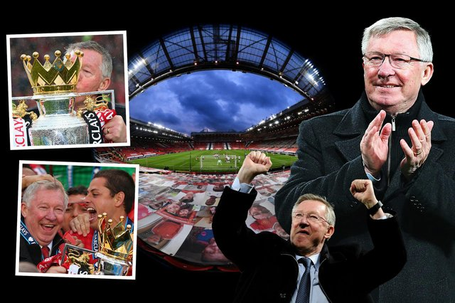 Sir Alex Ferguson: Never Give In will follow the football icon's journey to becoming one of the greatest managers the sport has ever seen (Credit: Mark Hall)